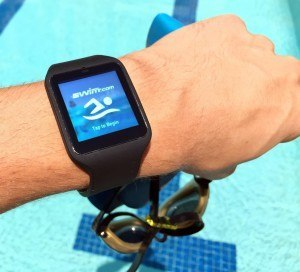 Swim.com,  Tracking App, Android Wear (courtesy of SwimOutlet.com)