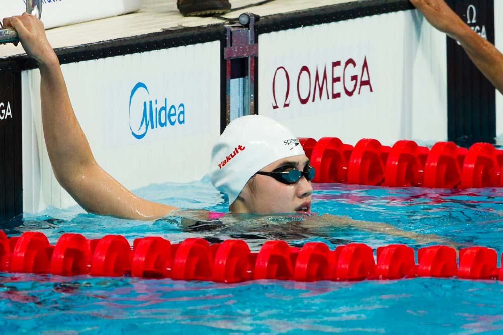 Yufei Zhang Re-Breaks Junior World Record in 200 Fly