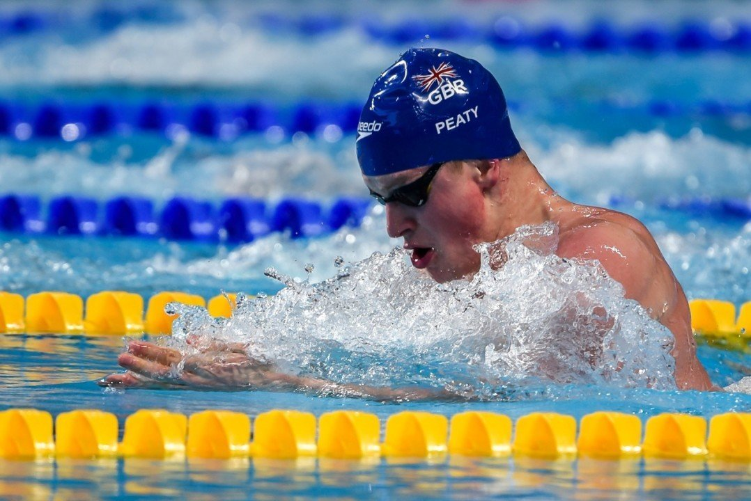 2015 Swammy Awards: Adam Peaty, Male Swimmer of the Year