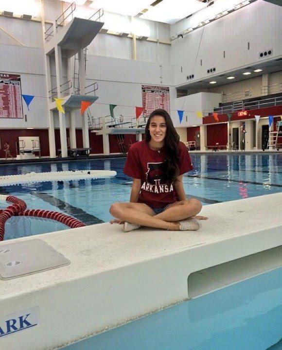 Florida Diver Victoria Moretti Makes Verbal Commitment to Arkansas
