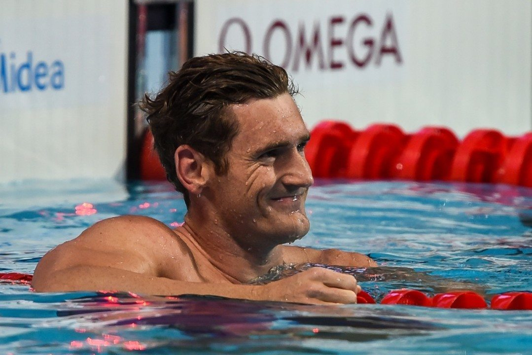 Cameron Van der Burgh Goes 2:10.13 to Win 200 Breast in South Africa