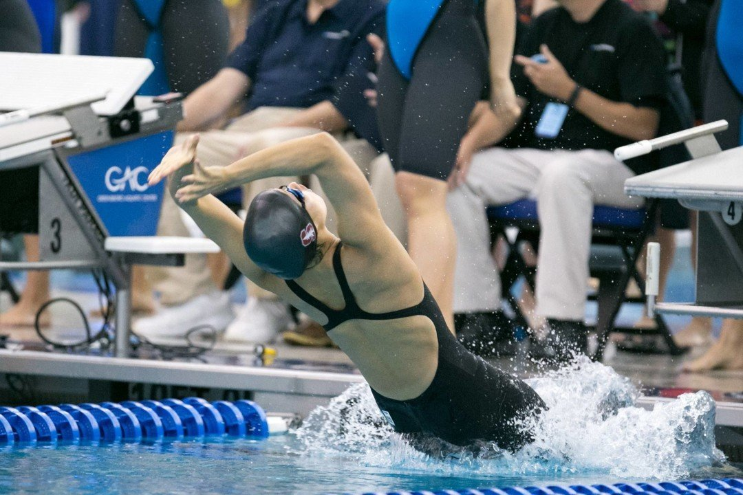 Janet Hu Changes Up NCAA Entries: Drops 50 free, Opts for 100/200 back