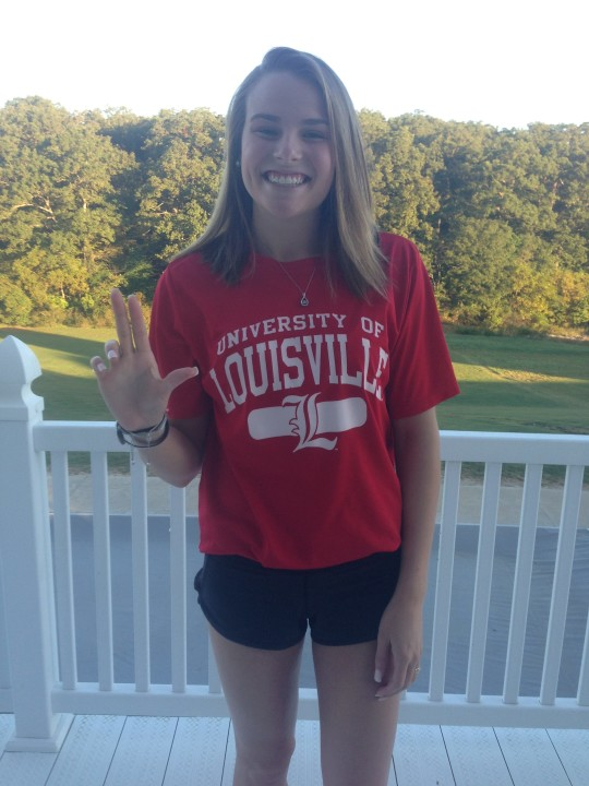 Elite Sprinter Avery Braunecker Commits To The Louisville Cardinals
