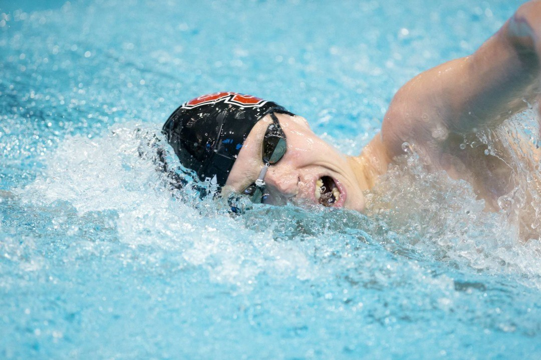 2016 NC State Invite: Ipsen Races to 4:13 Victory in 500 Free
