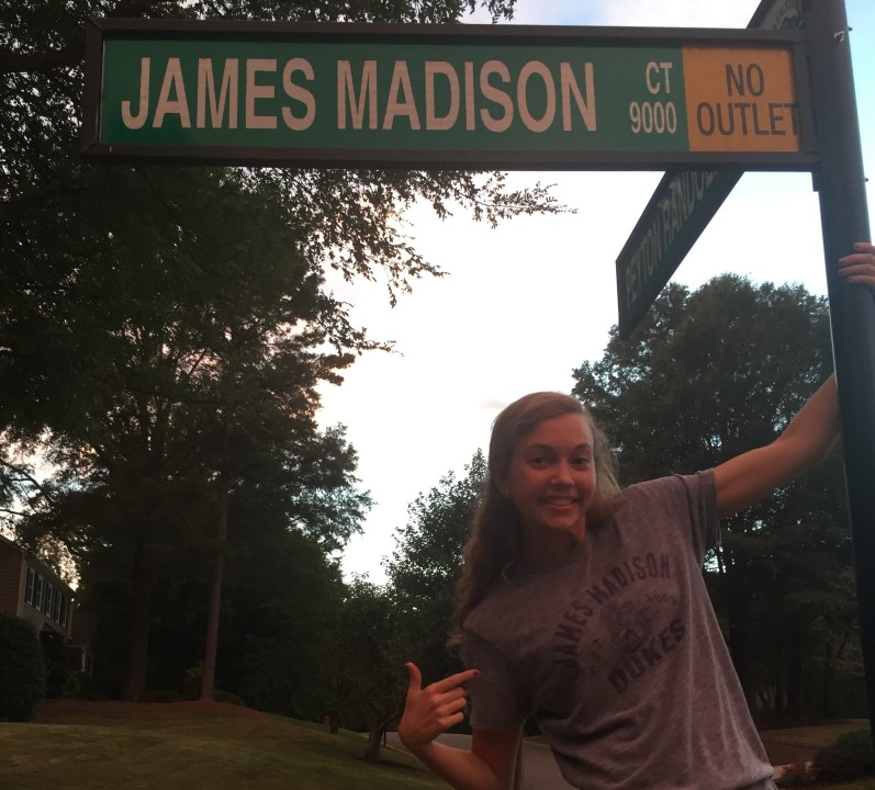 SwimMAC's Kristie Darmody Gives Verbal to James Madison University