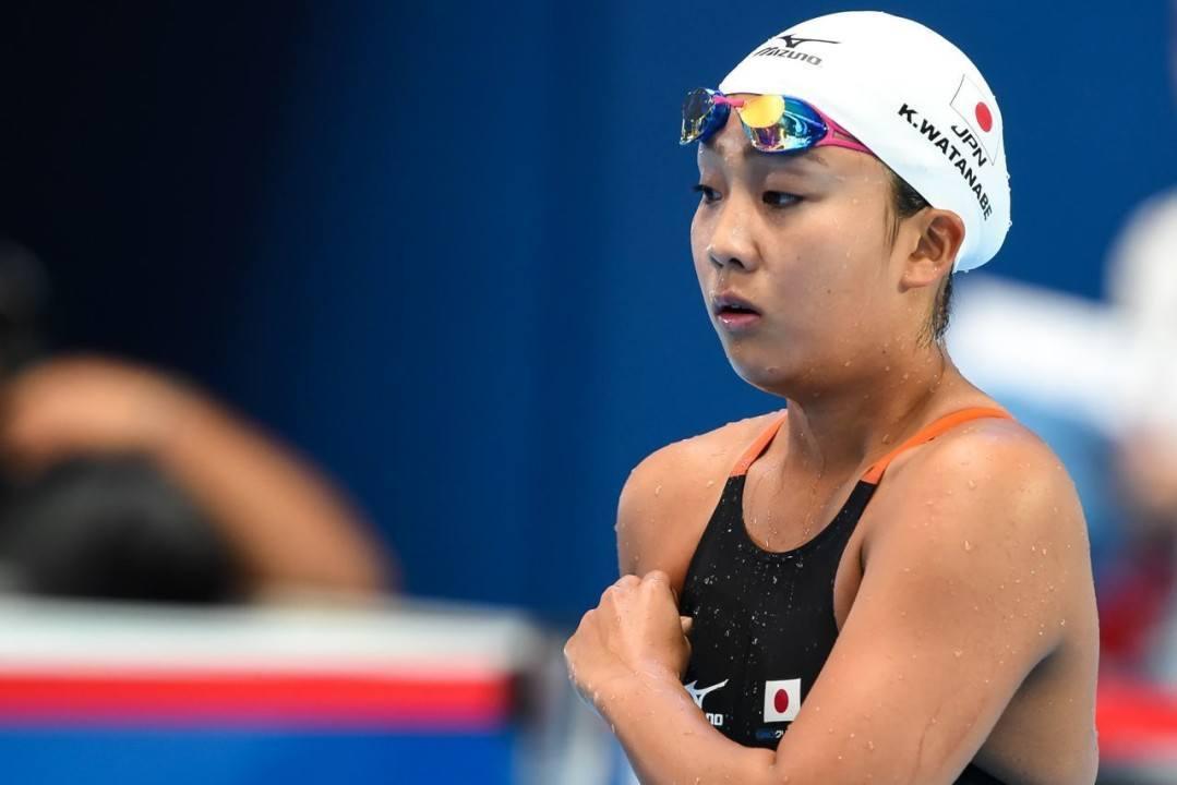 Breaststroking Ace Kanako Watanabe Returns To Rio Coach