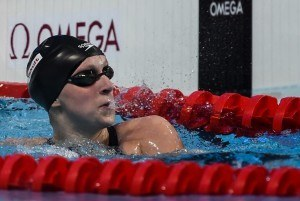 "Ledecky on Gold Medal Prospects: ""I don't think big picture like that"""
