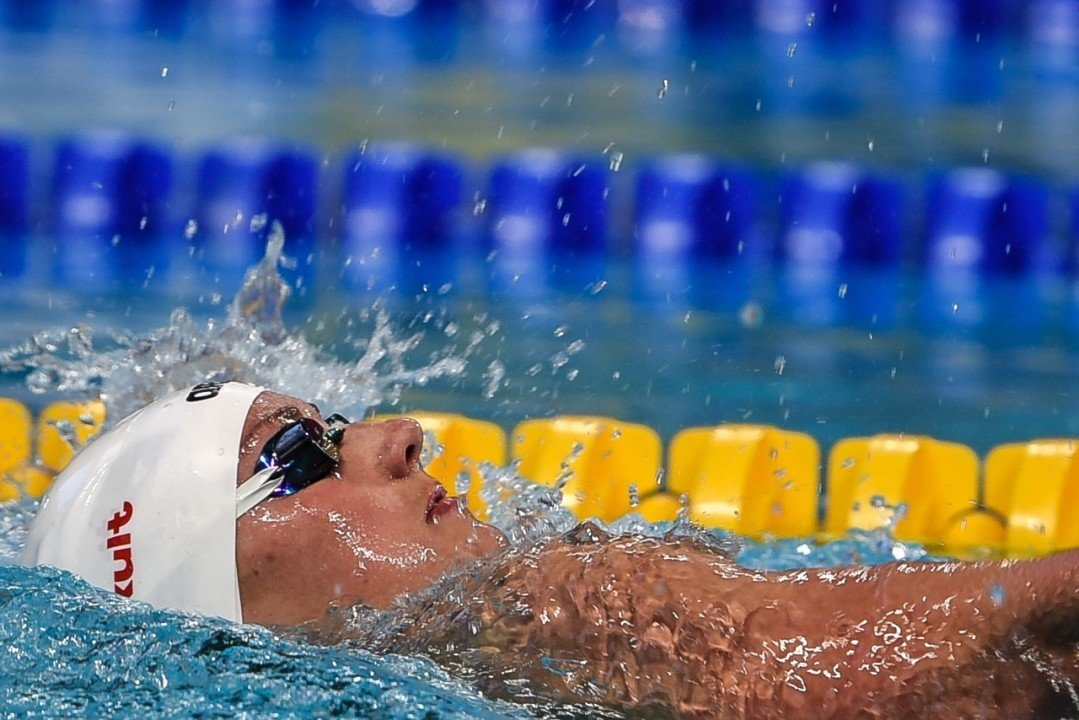Katinka Hosszu Takes Hungarian 50 Back Record Below 28 In Dubai