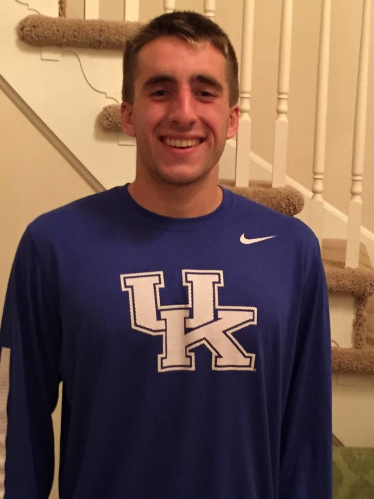 UDAC Breaststroker Wyatt Amdor Gives Verbal to Kentucky Wildcats