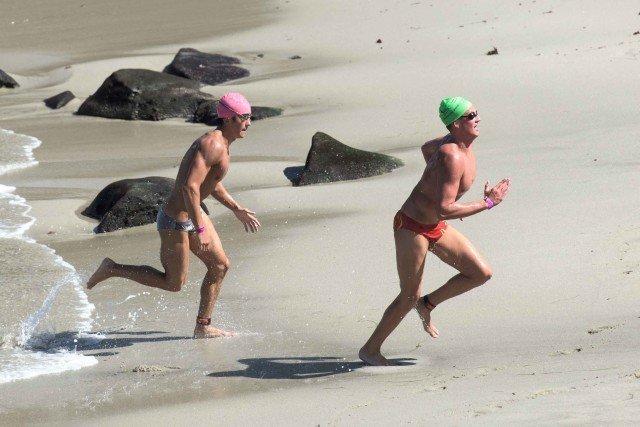 La Jolla Rough Water Swim - open water swimming - by Mike Lewis-13