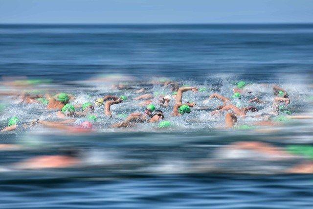 La Jolla Rough Water Swim - open water swimming - by Mike Lewis-14