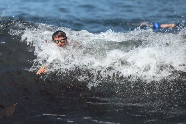 La Jolla Rough Water Swim - open water swimming - by Mike Lewis-2