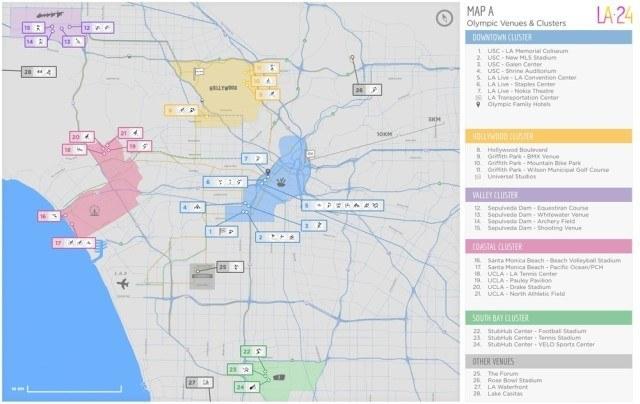LA 2024 Map A