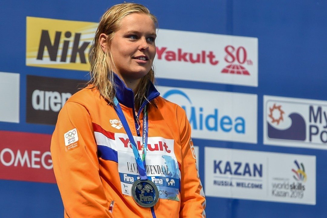 Van Rouwendaal Gives Dutch Their 1st Swimming Medal With Gold In 10 KM