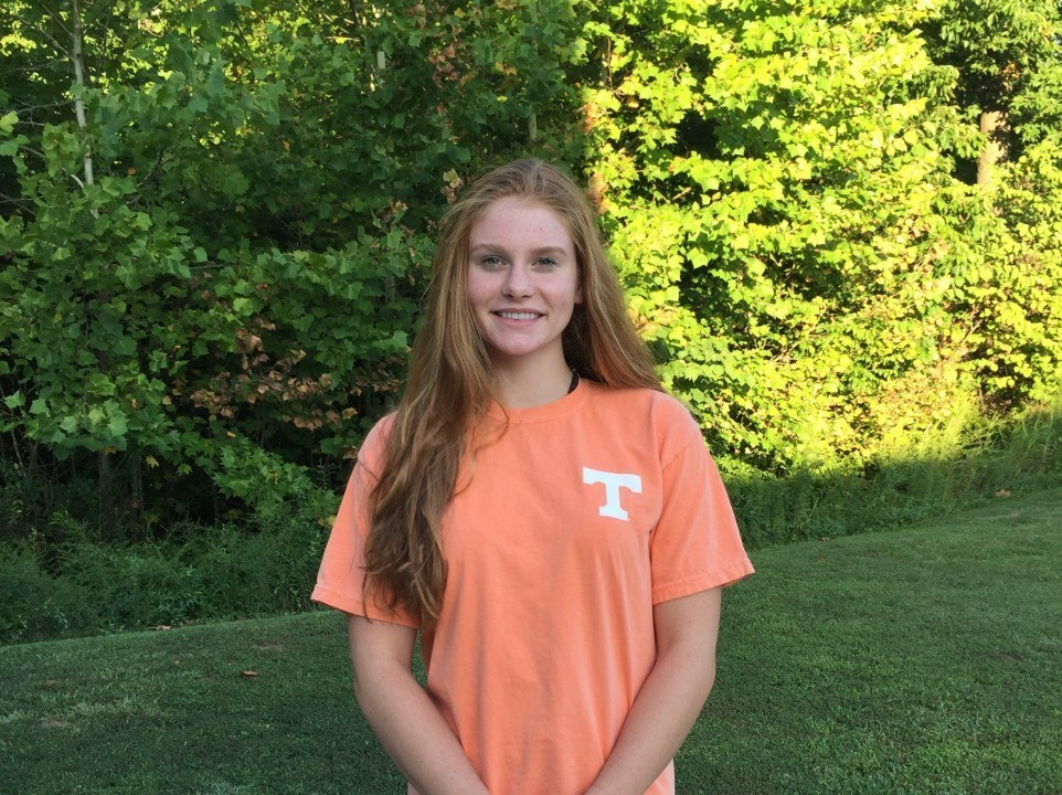 SwimMAC's Erika Brown Verbally Commits to Tennessee