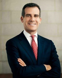 Los Angeles Mayor  (Courtesy LA24.com - Los Angeles 2024 website)