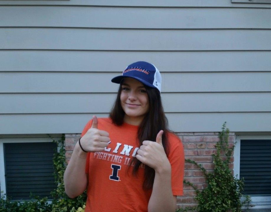 Illinois Picking Up Steam as In-State Backstroker Haley Nelson Verbals