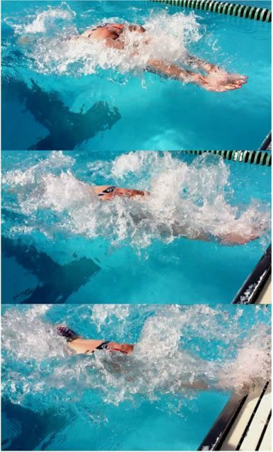 Annamay Pierse Breaststroke Turn (Photos by Jozsef Nagy)