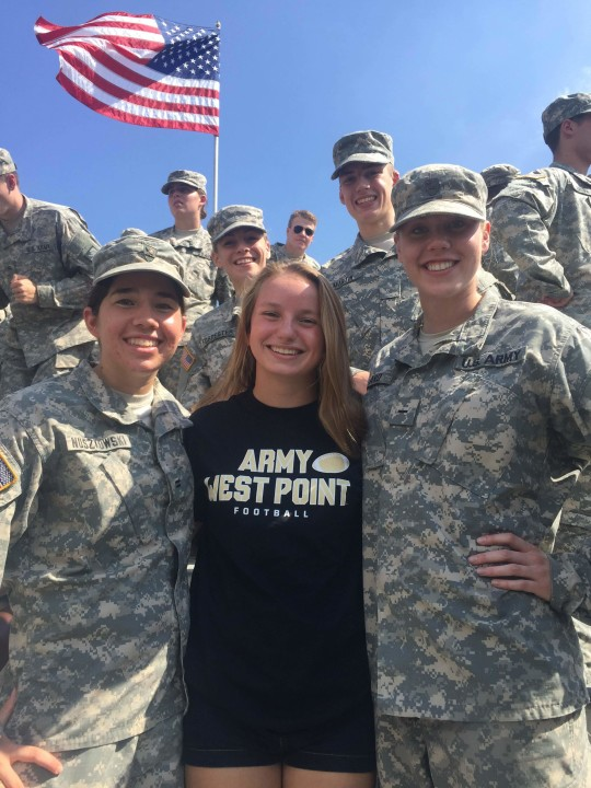 Delaware HS State Champion Josephine Marsh Commits to Army West Point