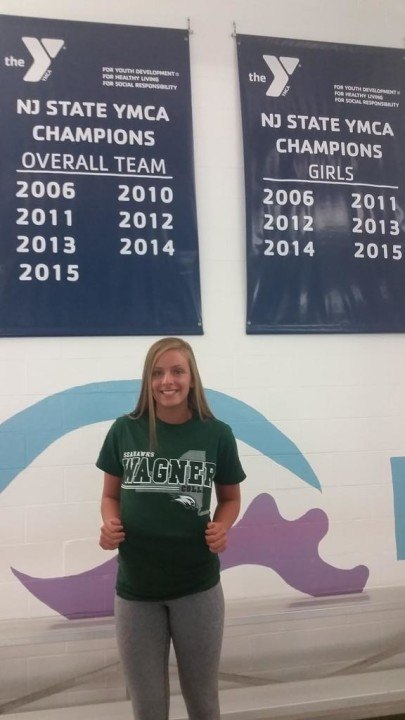 Wagner College Receives Verbal from SVY Breaststroker Jenna D'Allegro