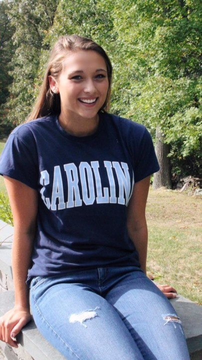UNC Women Receive Verbal from SOLO Freestyler Bryanna Cameron