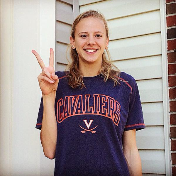 OCCS Breaststroker Mary Claire Tansill Commits to UVA