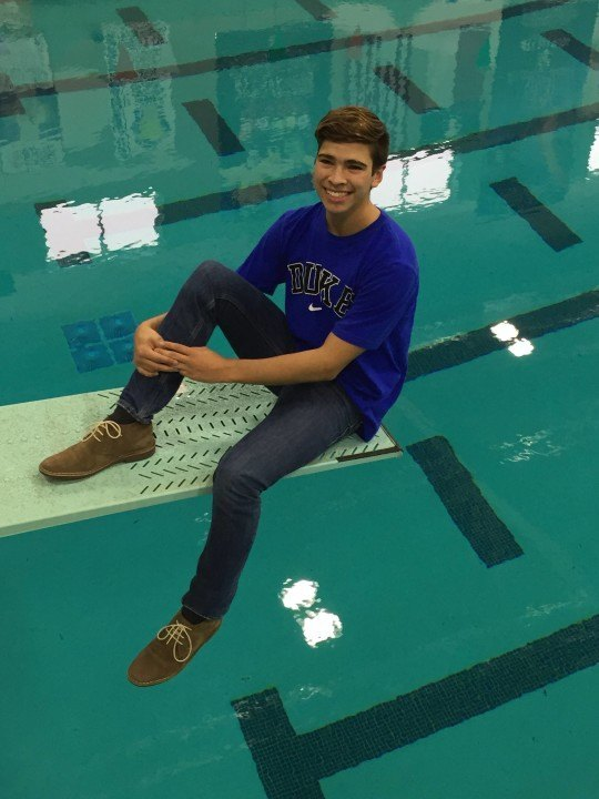 Duke Gets Verbal from Game-Changing Diver, Nathaniel Hernandez