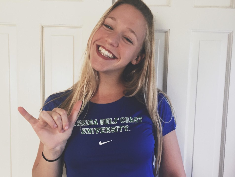 Liz Zeiger Commits to FGCU: Best IM Recruit in Program History