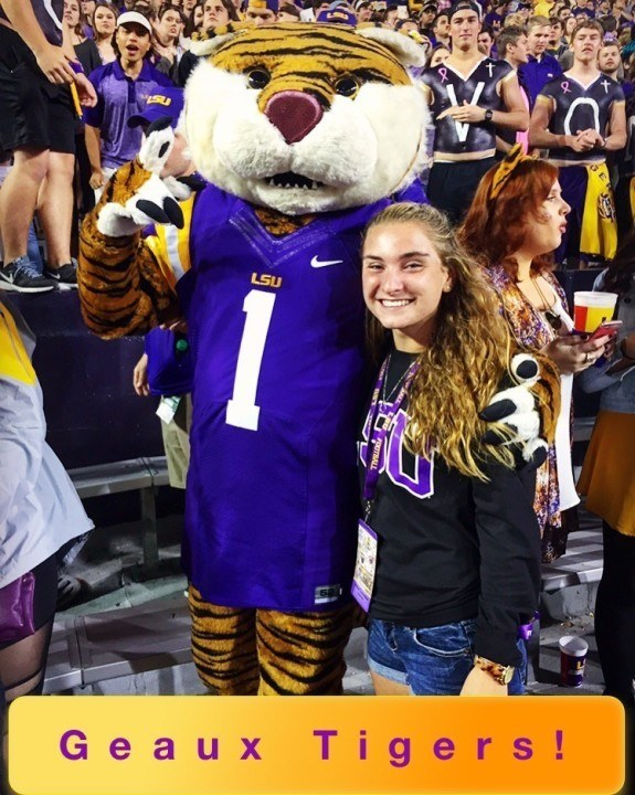 New Jersey LSC Record Holder Helen Grossman Commits to LSU