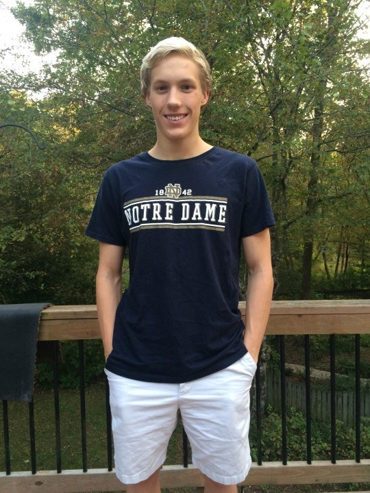 Olympic Trials Qualifier Aaron Schultz Commits To Notre Dame