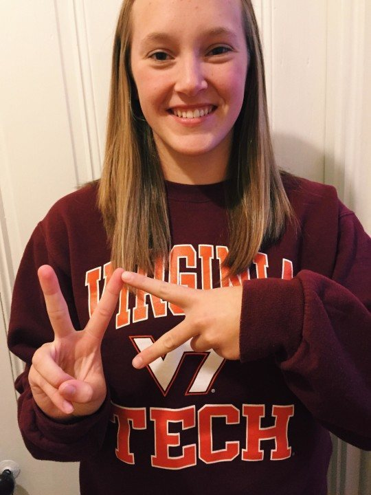 Versatile Distance Swimmer Grace Kowal Commits To Virginia Tech