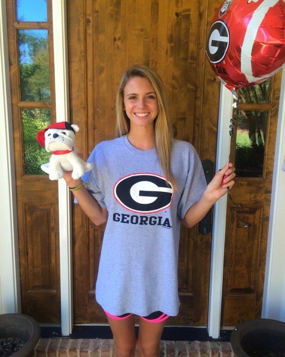 Hometown Backstroke Talent Mary Cardwell Commits To Georgia