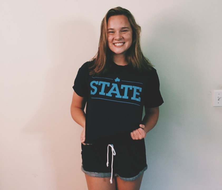 And Indiana State Women's Swimming & Diving's First Verbal Commit Ever is…