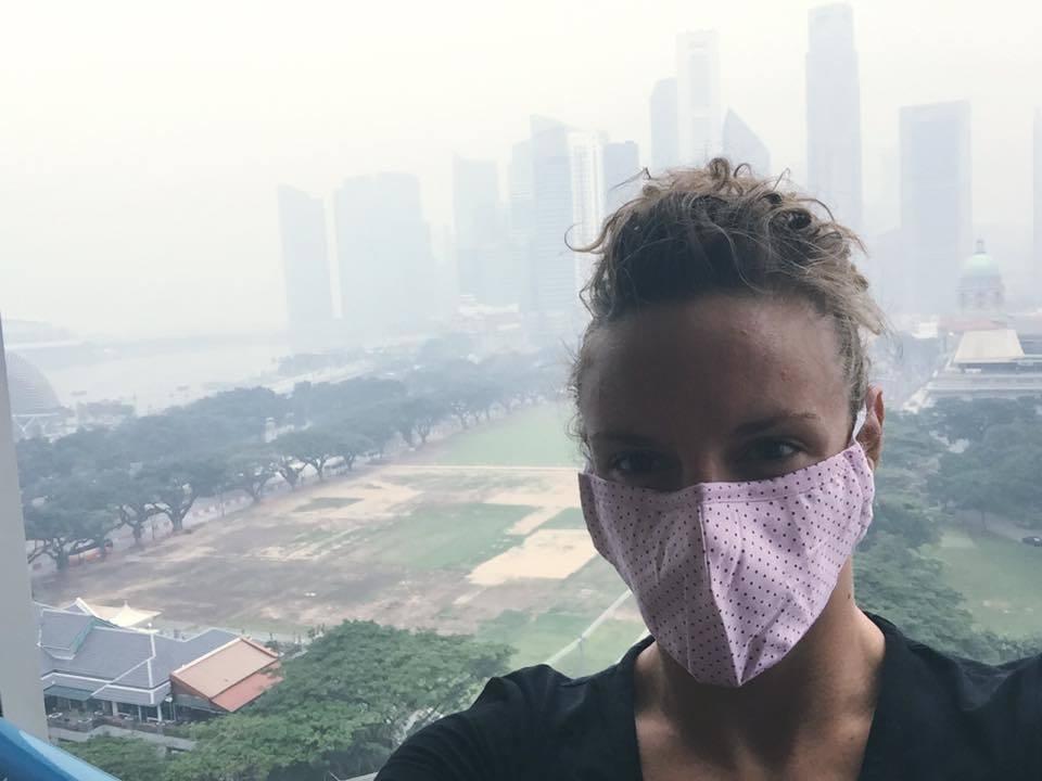 Tag 1 Singapore World Cup abgesagt wegen schlechter Luft