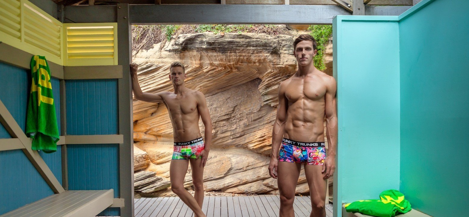 Why male models? 7 reasons why swimmers make great underwear models