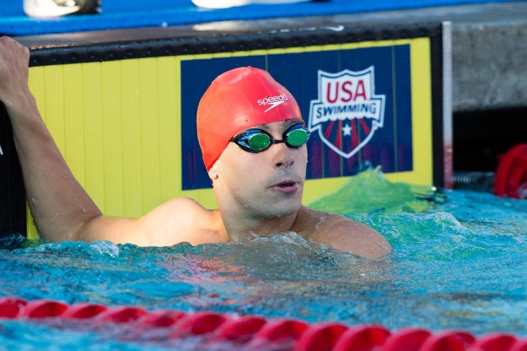 Pieroni Soars In Long Course Session Of Texas-Indiana-Florida Triangular