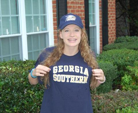 Georgia Southern Picks Up In State Breaststroker Riha Moss