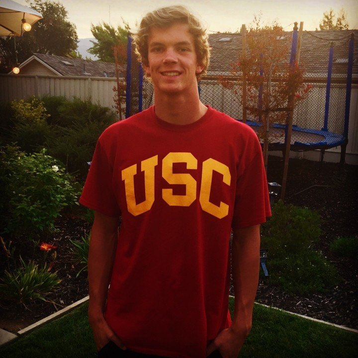Converted Water Polo Player Thomas Reed to Swim for USC Trojans