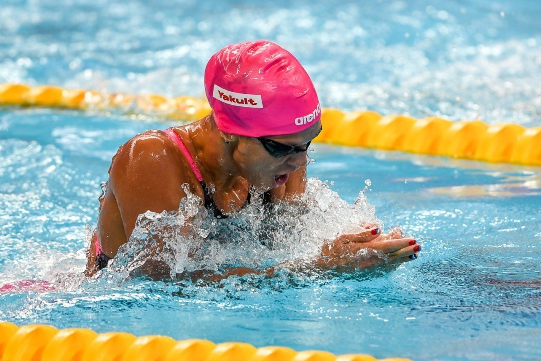 Efimova's Former Coach Says Swimmer's Meldonium Level Less Than 1mcg