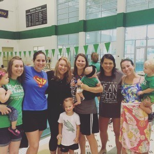 Mean Green Swimming Alumni (Courtesy Bethany 'Pipes' Baumgart)