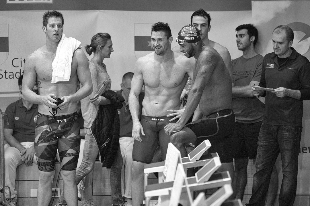 See Rare Cullen Jones Breaststroke Pic In Bolzano Photo Vault