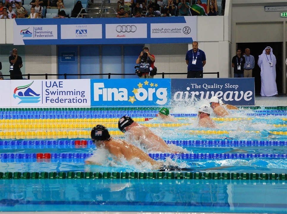 Stubblety-Cook Gets Under 1:00 In 100 Breast For First Time Ever