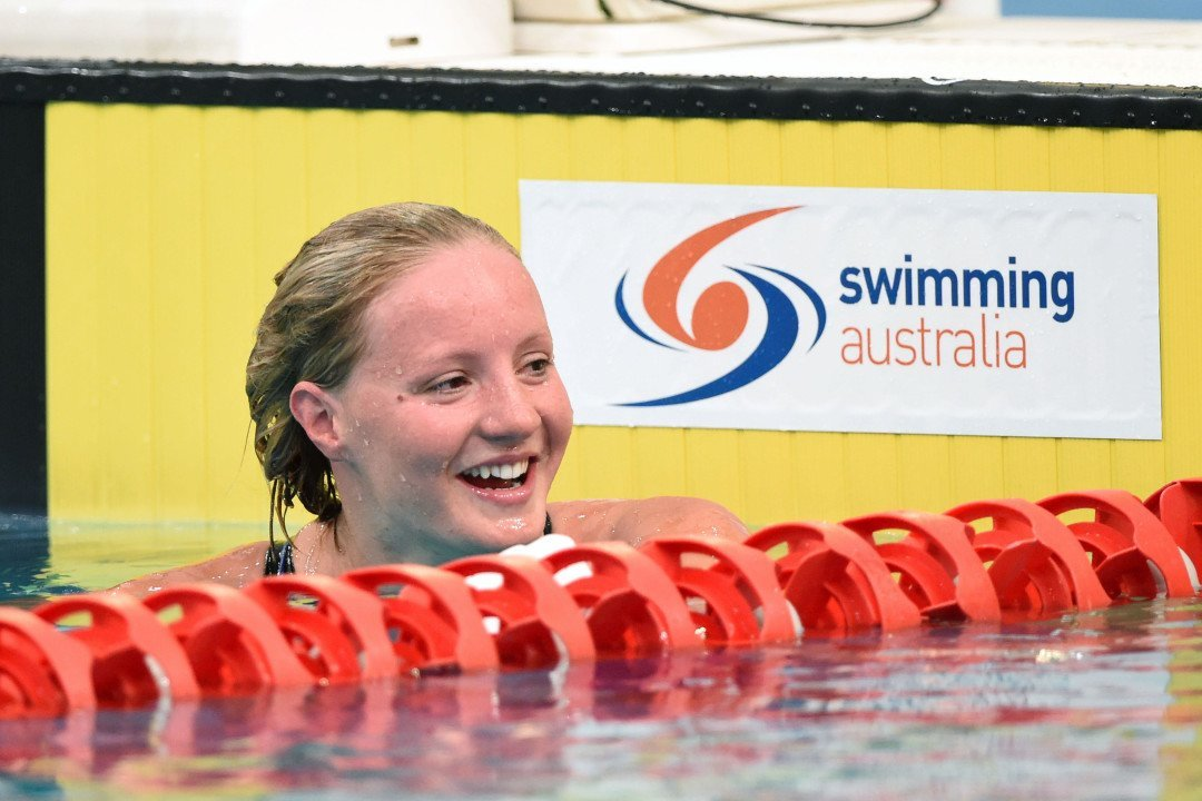 Jessica Ashwood Breaks National Record To Open Aussie SC