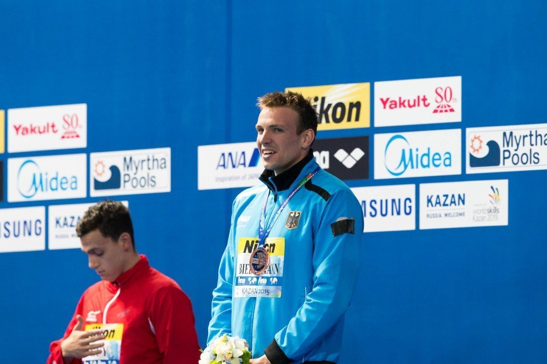 27 swimmers, led by Biedermann, to represent Germany in Israel