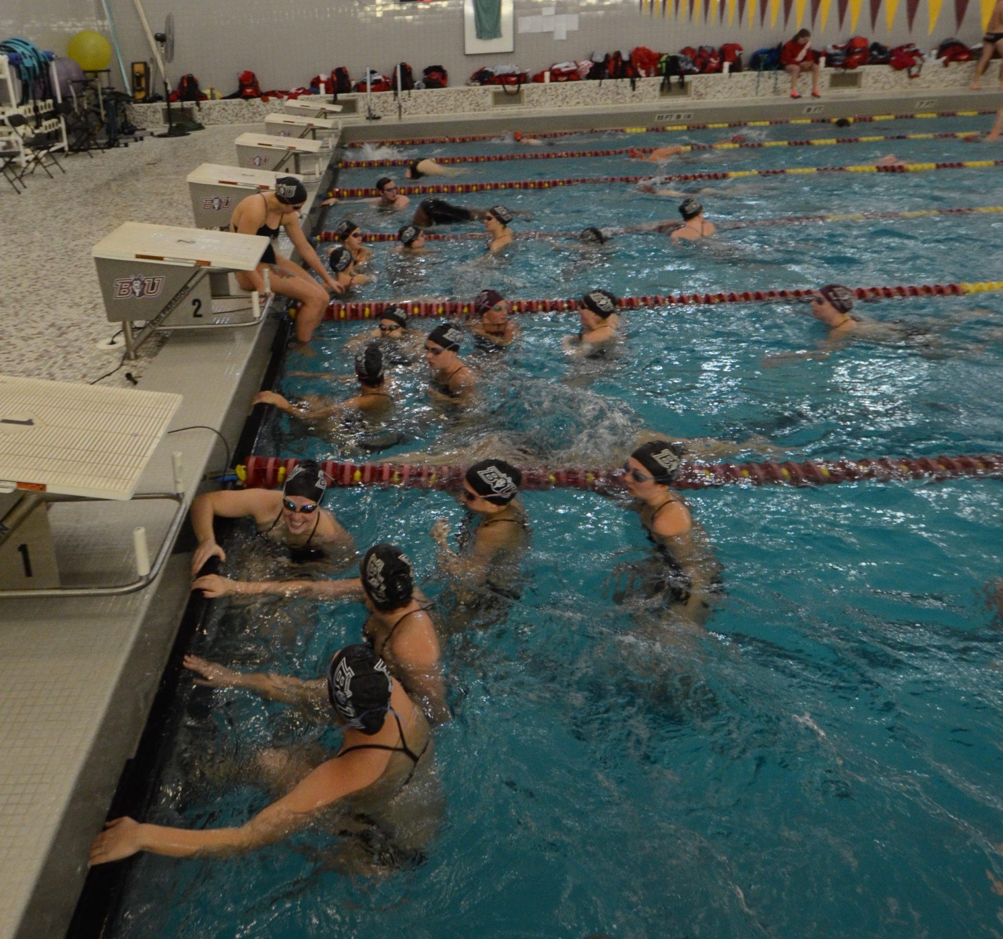 Photo vault jim carlin memorial swim meet - Bloomsburg university swimming pool ...