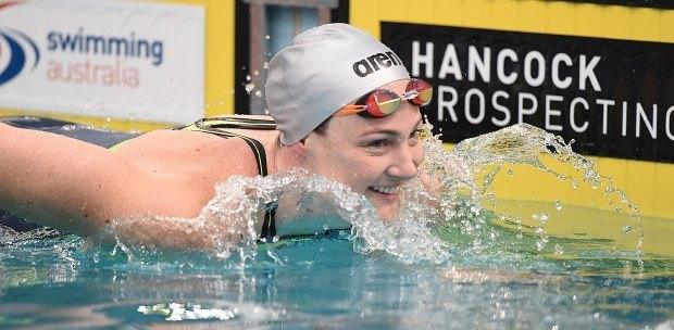 Cate Campbell Gets Under World Record To Cap Aussie SC