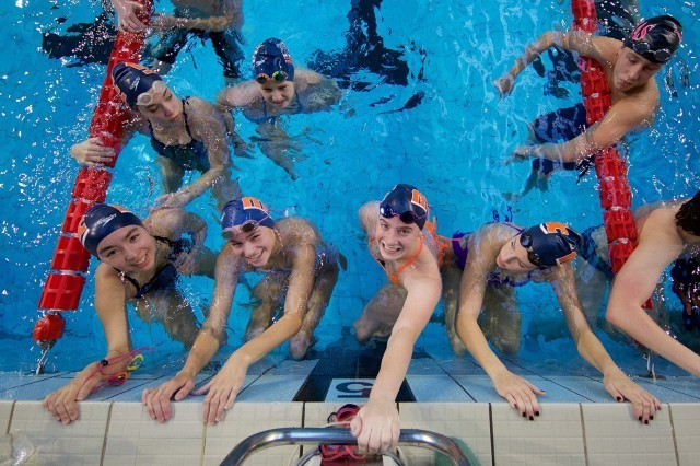 Happy SwimMAC & Italian Swimmers, Domeyko Photography