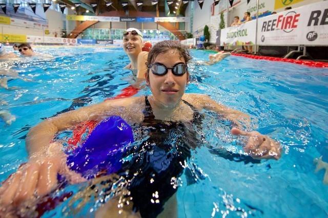 A participant at the clinic w/ SwimMAC and Italian SSV Bozen Schwinnem teams