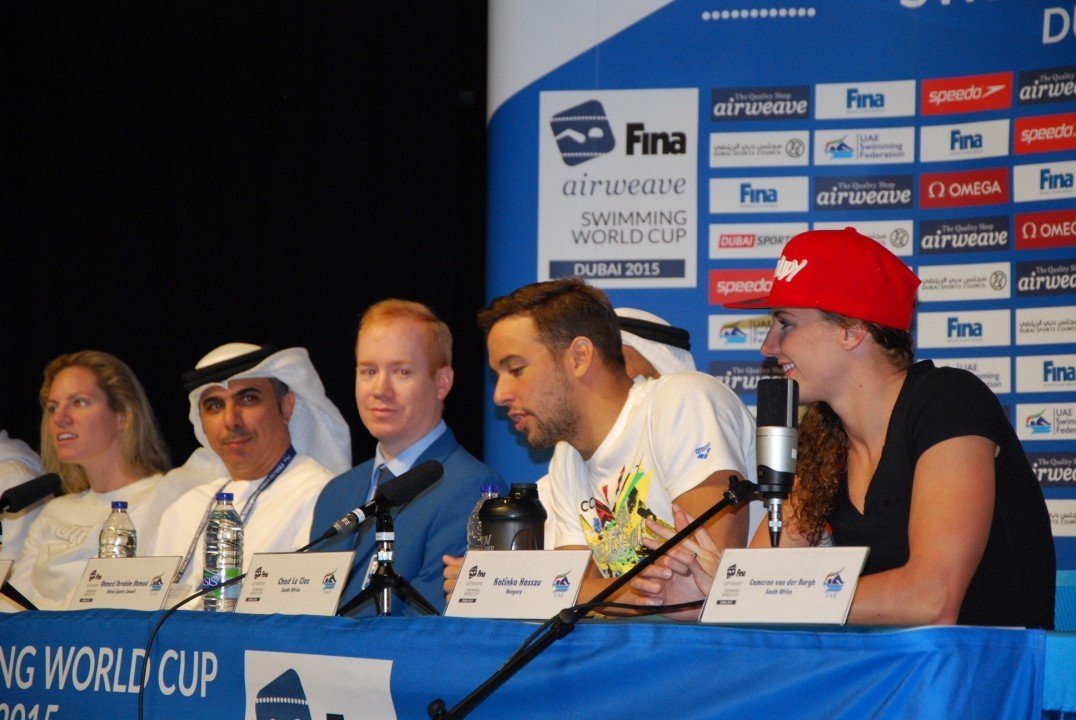 World Cup Press Conference: Hosszu Prefers Short Course World Cups