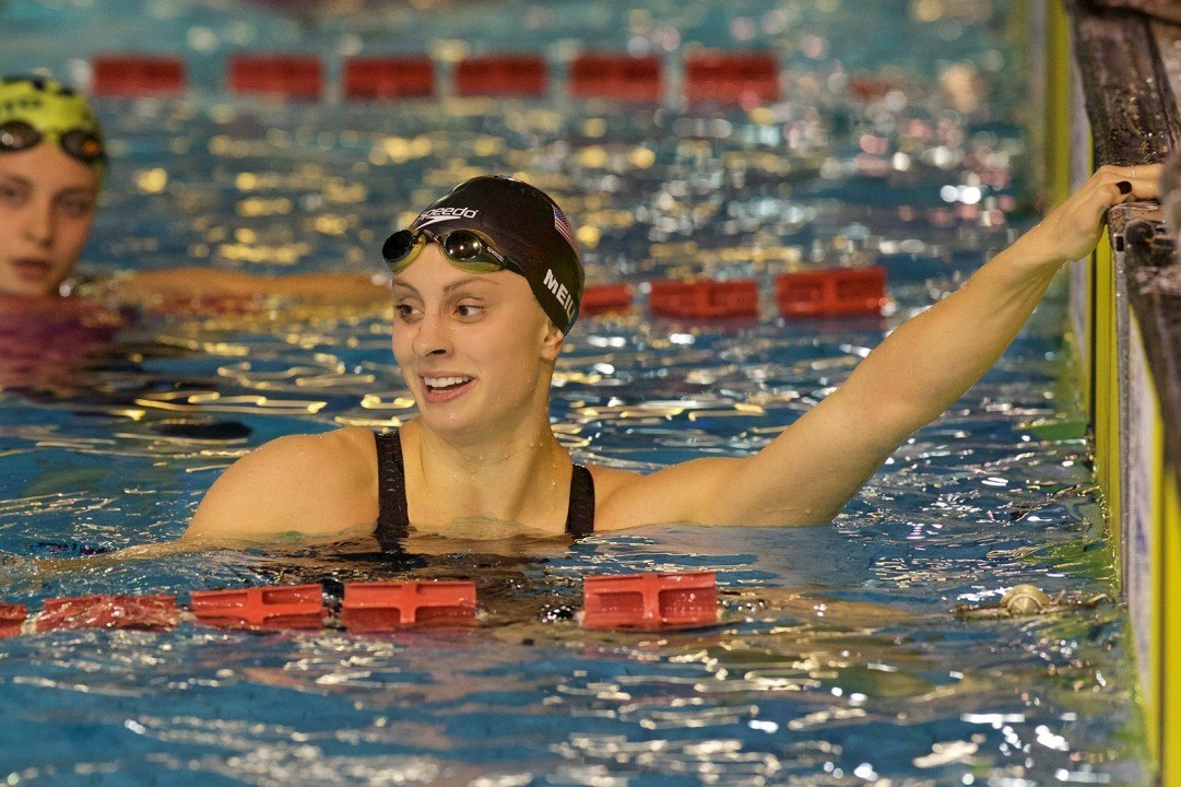 2015 Nico Sapio Trophy Photo Vault: Katie Meili, Cullen Jones, AVW